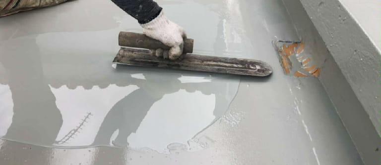 防水ゴム2回塗りの画像