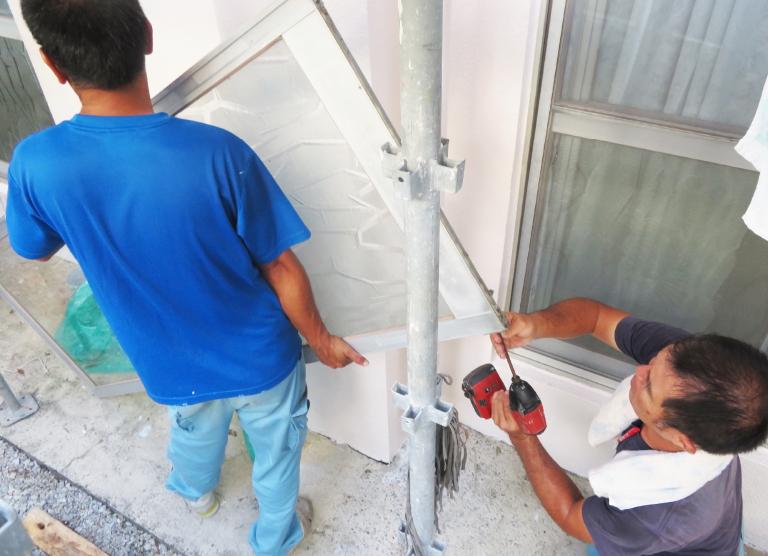 付帯工事<br>(水道管・アルミ設備・看板取り替え等)