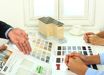 塗料や施工方法の選定の画像