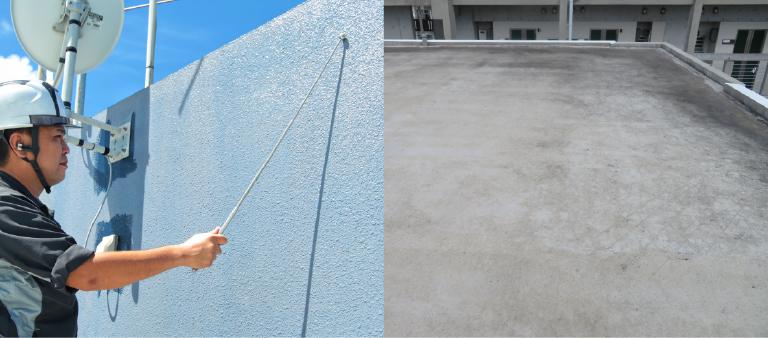 屋上防水・外壁リフォームの目安・時期の画像