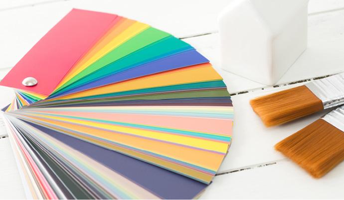 カラーシミュレーションの画像